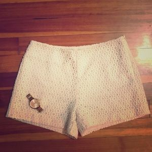 Banana Republic lace shorts